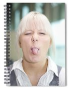 Cheeky Business Spiral Notebook