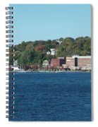 Chelsea Harbor In Fall Spiral Notebook