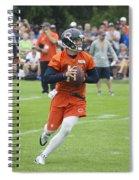 Chicago Bears Qb David Foles Training Camp 2014 05 Spiral Notebook