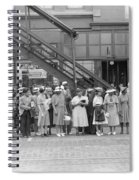 Chicago Commuters, 1940 Spiral Notebook