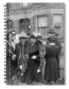 Chicago Easter, 1941 Spiral Notebook