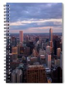 Chicago Il. Skyline, May 2009 Spiral Notebook