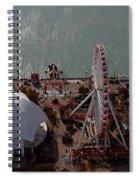 Chicago Navy Pier Spiral Notebook