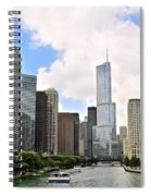 Chicago Panorama Spiral Notebook