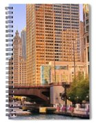 Chicago River Reflections Spiral Notebook
