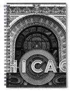 Chicago Theater Marquee Spiral Notebook