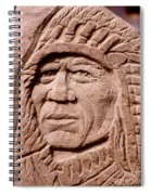 Chief-iron-tail Spiral Notebook