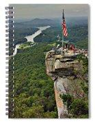 Chimney Rock Overlook Spiral Notebook