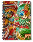 Chinese Temple Detail Spiral Notebook