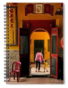 Chinese Temple In Ho Chi Minh Vietnam Spiral Notebook