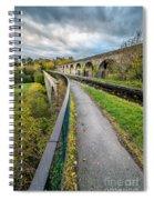 Chirk Aqueduct Spiral Notebook