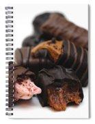 Chocolate Candies Spiral Notebook