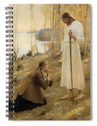 Christ And Mary Magdalene  Spiral Notebook