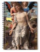 Christ As The Suffering Redeemer  Spiral Notebook