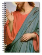 Christ Weeping Over Jerusalem Spiral Notebook