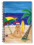Christmas In Kona Spiral Notebook