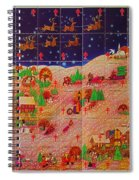 Christmas Seals 1976 Spiral Notebook