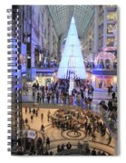 Christmas Shopping In Toronto Spiral Notebook