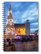 Christmas Time In Warsaw Spiral Notebook