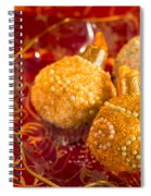 Christmasball Cupcakes Spiral Notebook