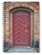 Church Door 02 Spiral Notebook