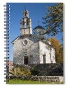 Church In Cetinje Montenegro Spiral Notebook
