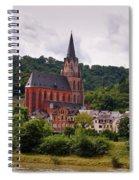 Church Of Our Lady  Oberwesel Am Rhein Spiral Notebook