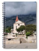 Church Of St.mark Makarska Spiral Notebook