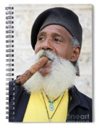 Cigar Man Spiral Notebook