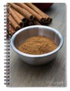 Cinnamon Spice Spiral Notebook