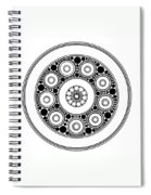 Circle Motif 138 Spiral Notebook