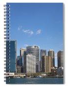 Circular Quay In Central Sydney Australia Spiral Notebook