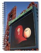 Citizens Bank Park - Philadelphia Phillies Spiral Notebook