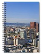 City Of Los Angeles Spiral Notebook