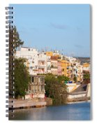 City Of Seville In Spain Spiral Notebook