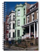 Classic American Architecture In Washington Dc Spiral Notebook
