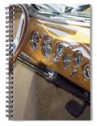 Classic Car Interior Spiral Notebook