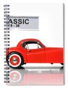 Classic Car Spiral Notebook