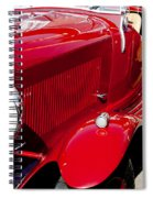 Classic Curves Spiral Notebook