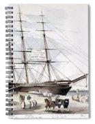 Clipper Flying Cloud, 1851 Spiral Notebook
