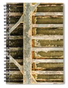 Close-up Of A Weathered Wall, Los Spiral Notebook
