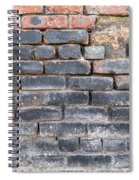 Close-up Of Old Brick Wall Spiral Notebook