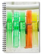 Clothes Pegs Spiral Notebook