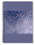 Lots Of Clouds Spiral Notebook
