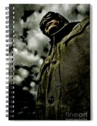 Cloudy Captain Spiral Notebook
