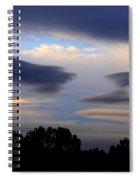 Cloudy Day 2 Spiral Notebook