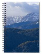 Cloudy Peak Spiral Notebook