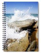Coastal Collision Spiral Notebook
