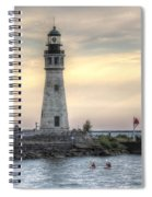 Coastguard Lighthouse Spiral Notebook