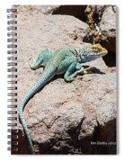 Collard Lizard  Spiral Notebook